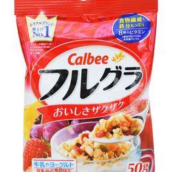 Ngũ cốc trái cây Frugra Calbee 50g giá sỉ
