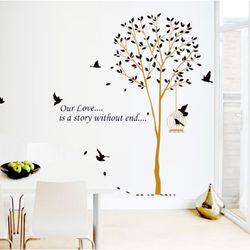 Decal Dán Tường Cây và Chim giá sỉ