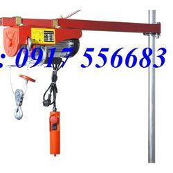 Tời điện mini PA200 tải trọng nâng 50kg 100kg 200kg cáp dài 20m dùng điện 220v giá sỉ