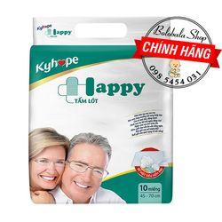 Tấm lót Kyhope Happy người già Size M/L 10 Miếng giá sỉ