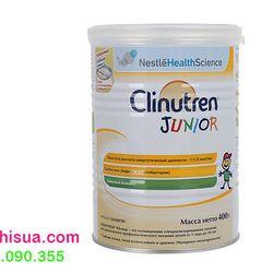 Sữa béo Clinutren junior hộp 400g dành cho bé suy dinh dưỡng giá sỉ
