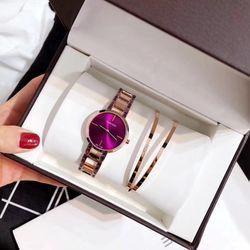 sét đồng hồ trang sức vòng tay chất đẹp giá sỉ