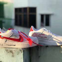 Giày thể thao AF1 Custom mới về nữ tặng kèm 3 cặp dây như hình giá sỉ