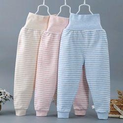 quần cotton cạp cao giữ ấm bụng cho bé giá sỉ