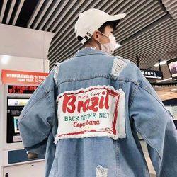 áo khoác jeans bò thời trang nam nữ giá sỉ