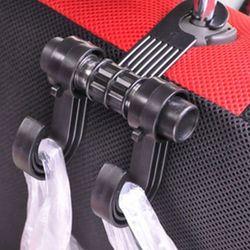 Dụng cụ thiết bị móc mắc treo máng đồ đôi túi giỏ xách nhỏ gọn tải trọng đến 8kg cho sau ghế xe hơi xe ô tô xe tảiINS012 giá sỉ