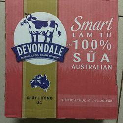 Sữa tươi Devondale Smart 200ml giá sỉ