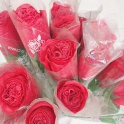 Bông hồng vải siêu xinh siêu đẹp giá sỉ