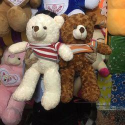 Gấu teddy nhiều màu quà tặng giá tốt giá sỉ, giá bán buôn