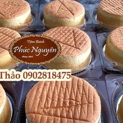 Bánh Bông Lan Trà OoLong ổ tròn 16cm giá sỉ