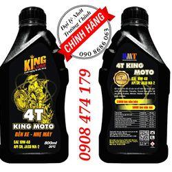 4T KING MOTO Dầu nhớt xe máy xe số 1L giá sỉ