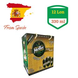 Bia Tây Ban Nha Moller Premium Lager 330 ml 5 Alc - Thùng 12 Lon giá sỉ
