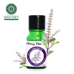 Tinh dầu hương nhu tía nguyên chất lọ 10ml giá sỉ