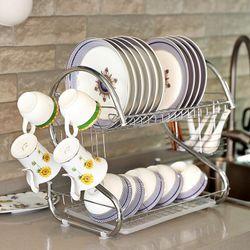 Kệ đựng bát đĩa và đồ dùng nhà bếp inox giá sỉ