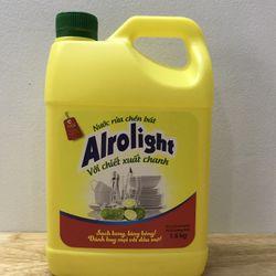 Nước rửa chén Alrolight - Cal 1kg6 giá sỉ