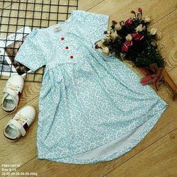 Đầm thun bông tay ngắn size đại size 8-size14 giá sỉ