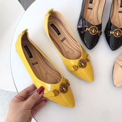 giày búp bê da mềm mang êm giá sỉ