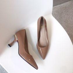 giày gót nhọn công sở đính đá giá sỉ