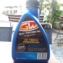 Dầu nhớt xe số Gulf Western Hitech Premium 20W50 SN 1lit giá sỉ