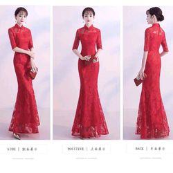 Đầm ren dạ hội giá sỉ