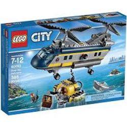 VTA LEGO CITY 60093 TRỰC THĂNG BIỂN SÂU