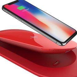 Đế kiêm Sạc dự phòng không dây Mipow Cube X 5000 màu đỏ RED giá sỉ, giá bán buôn