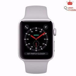 Đồng hồ Apple Watch Series 3 38mm trắng Silver Aluminum Case with Fog Sport Band GPS - Trắng