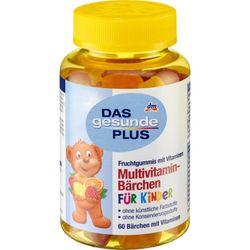 Kẹo dẻo hình Gấu bổ sung vitamin Das Gesunde Plus 60 Viên Đức giá sỉ