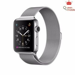 Đồng hồ Apple Watch Series 2 - Stainless Steel Case with Milanese Loop - Bạc