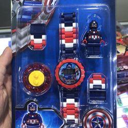 Đồng hồ siêu nhân lego