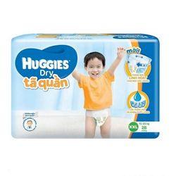 TÃ QUẦN HUGGIES JUMBO XXL28 - XL Size 11-17kg 21 giá sỉ