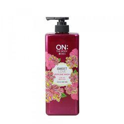 Sữa Tắm Nước Hoa ON THE BODY Sweet Love Perfume Wash 500ml Hàn Quốc - Hương hoa