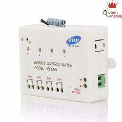 Bộ công tắc điều khiển từ xa 4 kênh TPE RC5G4 - Trắng