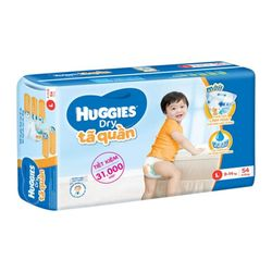 TÃ QUẦN HUGGIES BIG JUMBO L54 HUGGIES BIG JUMBO DIAPER PANTS L54 - XL Size 11-17kg 21 giá sỉ