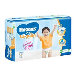 TÃ QUẦN HUGGIES BIG JUMBO XXL44 HUGGIES BIG JUMBO DIAPER PANTS XXL44 - XL Size 11-17kg 21 giá sỉ