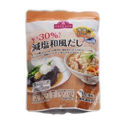 Hạt Nêm Dashi Ít Muối Gói 80G TV Topvalu Japanese Style Soup Stock Cut Down On Salt 80g