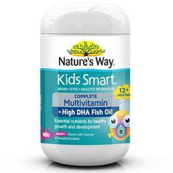 Vitamin Kids Smart bổ sung đầy đủ các loại Vitamin DHA cho bé từ 1 tuổi trở lên 50 viên giá sỉ