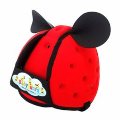 Nón Bảo Hiểm Trẻ Em - Bảo Vệ Đầu Em Bé Tập Đi BabyGuard - Đỏ