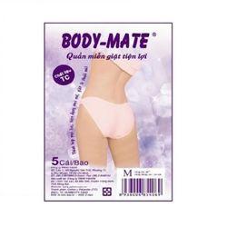 QUẦN LÓT MIỄN GIẶT TC NỮ BODY-MATE SIZE XL