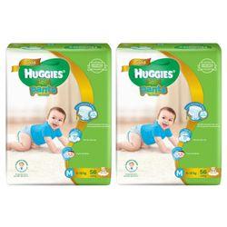 Tã-bỉm quần HUGGIES GOLD Bé trai M56 6-12kg - M Size 5-12kg 56 giá sỉ