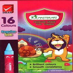 BÚT SÁP 16 MÀU MASTERART 16C 16-color Wax Crayons Masterart Elephant 16C - OTHER
