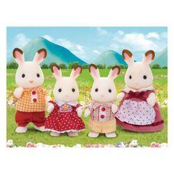 Bộ Đồ chơi Gia Đình Thỏ Nâu Slyvanian Families - Chocolate Rabbit Family - Nhiều màu