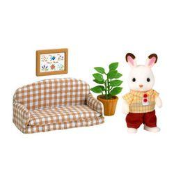 Đồ Chơi Gia Đình Thỏ Slyvanian Families - Chocolate Rabbit Father Set - Nhiều màu