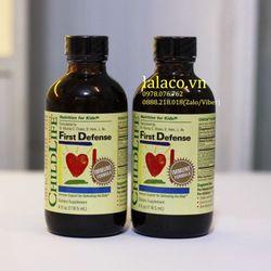 Vitamin tăng hệ miễn dịch cho bé ChildLife First Defense 1185ml giá sỉ