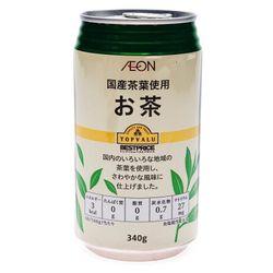 Trà Xanh Green Tea Toplvalu Lon 340G Topvalu BP Green Tea Drink 340g