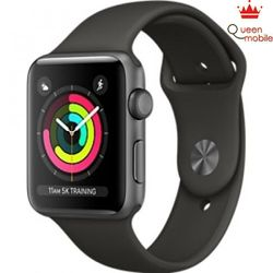 Apple Watch Series 3 GPS- 42mm MR362LL Space Gray Aluminum Case with Gray Sport Band