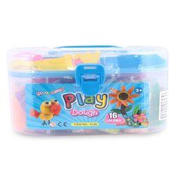 ĐẤT NẶN DỤNG CỤ 6126 16-Color Plastic Clay Play Dough Mold 6126 - Nhiều màu