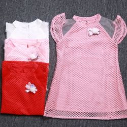 Đầm ren bé gái