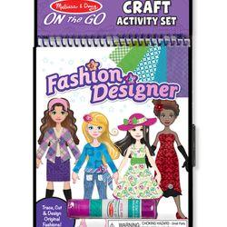 Bộ làm thủ công thiết kế thời trang Melissa Doug - Fashion Designer