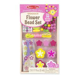 Bộ trang trí phụ kiện bông hoa Melissa Doug Flower Bead Set giá sỉ